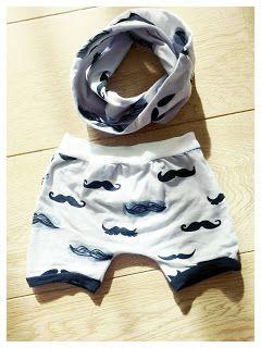Gratis patroon kort broekje baby. Free pattern short pants baby