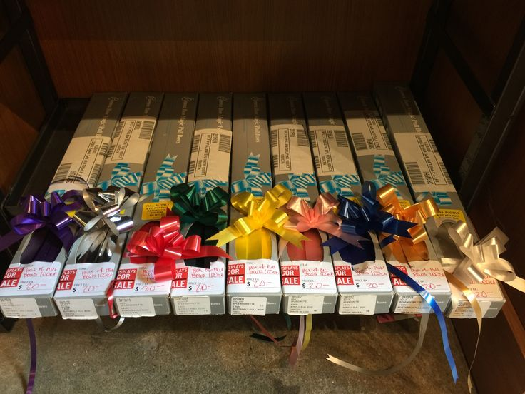 Boxes of Pull Bows - 100 ct. per box