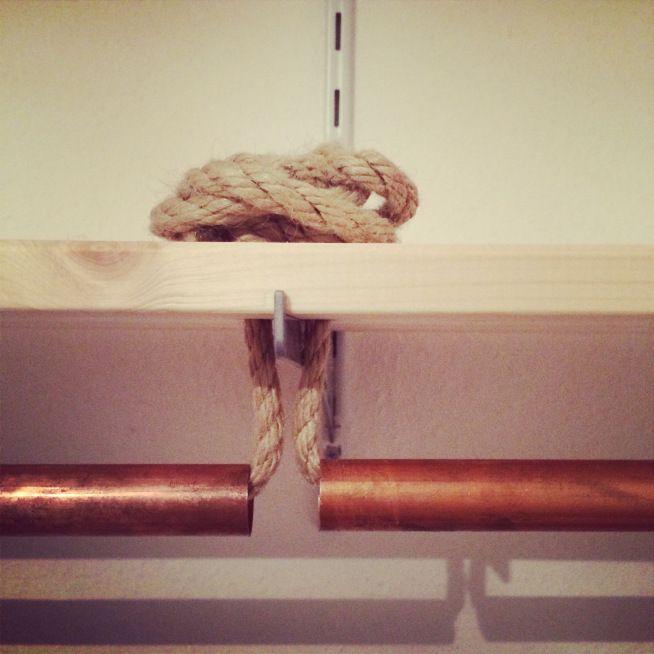 Schlafzimmer Makeover Teil 1: das Kleiderschrank-Projekt | theoundzausel