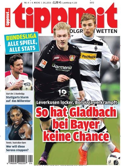 @bayer04fussball locker, @borussia verkrampft So hat Gladbach bei Bayer #keineChance ⚽ #Bundesliga #Borussia #BayerLeverkusen  Jetzt in @tippmit_dsv: