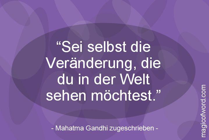 Zitat von Mahatma Gandhi