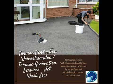 Tarmac cleaning sealer coating moss removal      Jet Wash Seal provides a full tarmac maintenance service. The tarmac driveway service includes cleaning removing Moss and protection coating. which will enha... https://www.youtube.com/watch?v=ImTe4s4SK1s