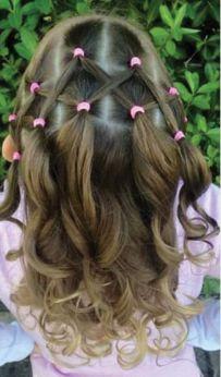 Peinados Nena, Peinados Faciles Para Nenas, Peinado Para Niñas Faciles, Peinados Catita, Peinados Hermosos, Peinados Infantiles, Colitas, Peinados Con Ligas