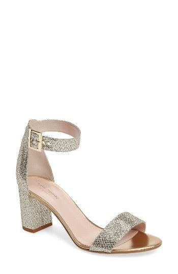 Free shipping and returns on kate spade new york antonella sandal (Women) at Nordstrom.com. Step up your glam game with a glitter-encrusted block-heel sandal that's sure to dazzle.