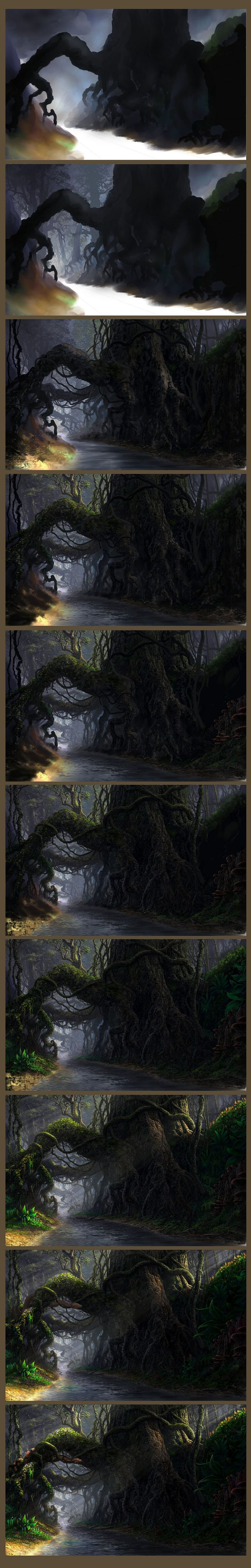 Roots - step by step by ~Fel-X on deviantART ✤ || CHARACTER DESIGN REFERENCES…
