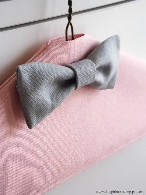 Shopgirl: Fabric Covered Hangers
