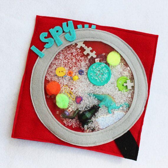 Tranquilo libro página Yo Espío hecho a por RoseInBloomCreations