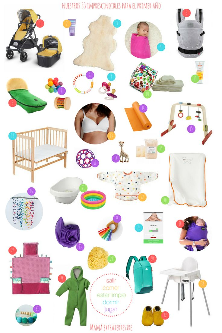 Mama extraterrestre nuestros 33 objetos imprescindibles para el primer año del bebe ecologicos paternidad consciente low cost sostenible crianza con apego