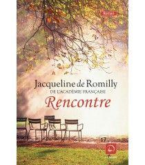 Rencontre de Jacqueline de Romilly. Jardin du Luxembourg à Paris.