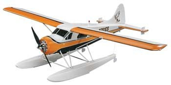 Flyzone DHC-2 Beaver Select Scale RTF 59.5""