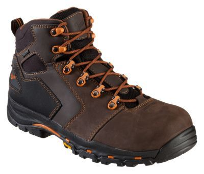 Danner Vicious GORE-TEX Non-Metallic Safety Toe Work Boots for Men - Brown - 10.5M