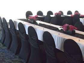 TO RENT CHAIR COVERS: Discount on chair cover rentals - Only $2 each. (Regularly $4)