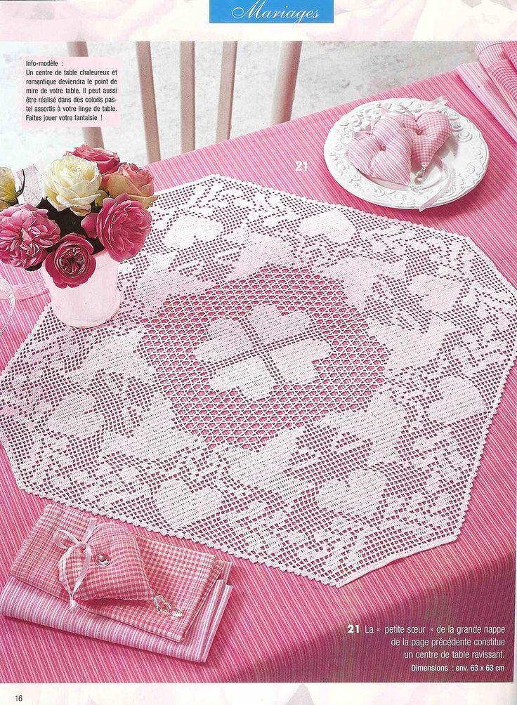 Mejores 134 imágenes de Malla en Pinterest   Punto de crochet ...