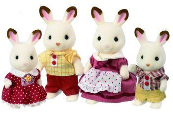 Sylvanian Families - Rodina chocolate králíků