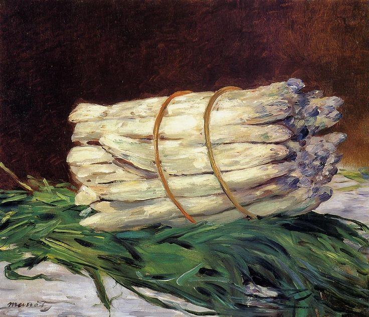 Bunch of Asparagus, Edouard <b>Manet</b>