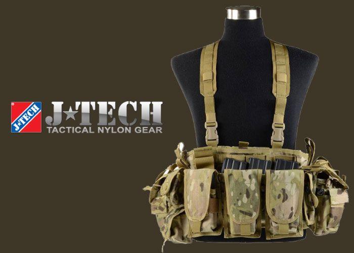 J-Tech Medusa Tactical Chest Rig-Full Set