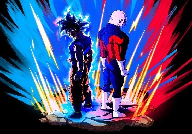 Goku Vs Jiren Anime Dragon Ball Dragon Ball Super Dragon Ball Artwork
