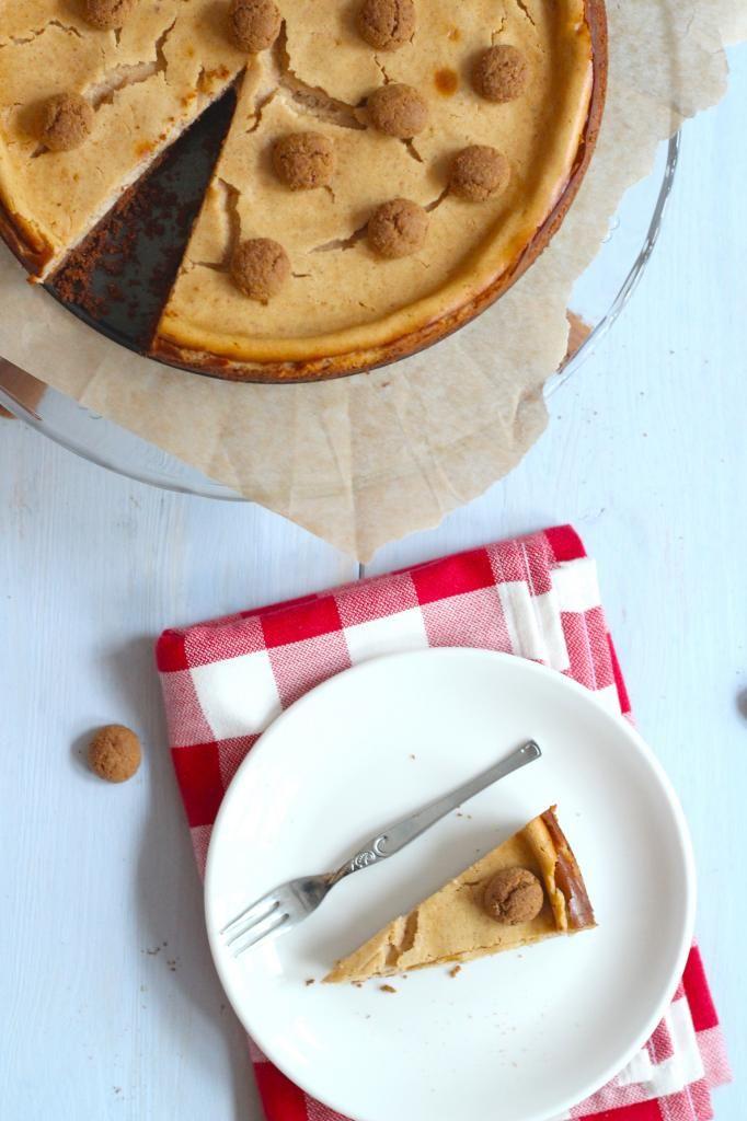 Pepernoten cheesecake - Lekker en Simpel