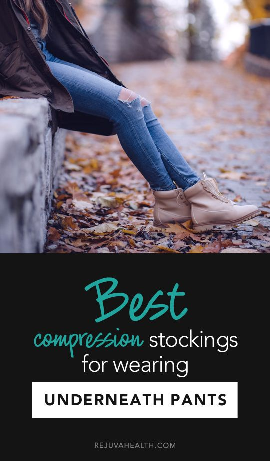 Best Compression stockings for wearing under pants
