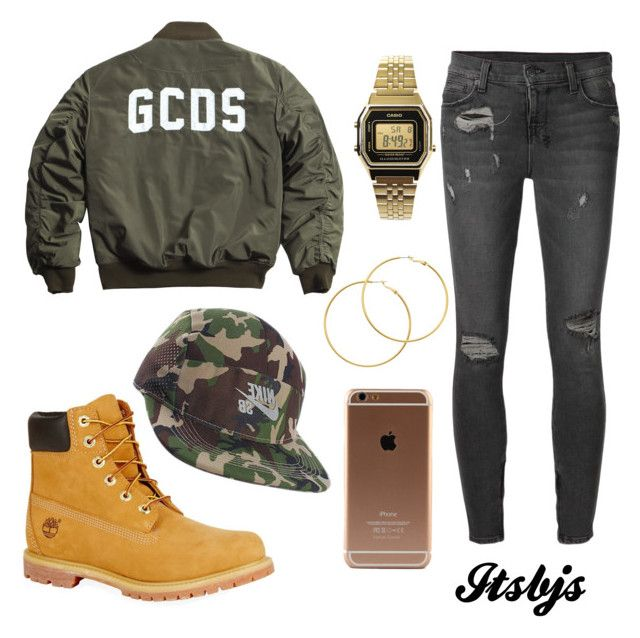 """""""Kahki/dope/timberland/military"""" by itsbjs on Polyvore"""