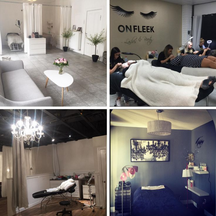 Decorate My Home Online: Some Great Ideas On How To Set Up A Lash Salon. Re-Pin If