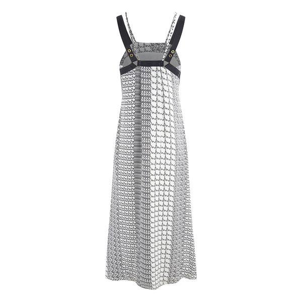 Длинные платья макси Kenzo женщин - White