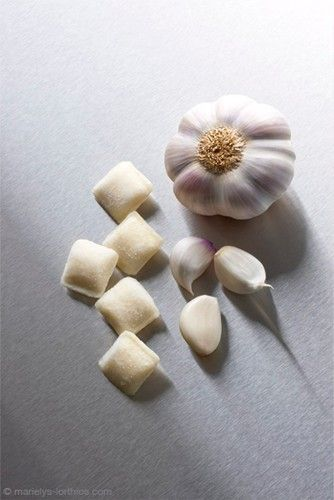 tablette Darégal, ail surgelé