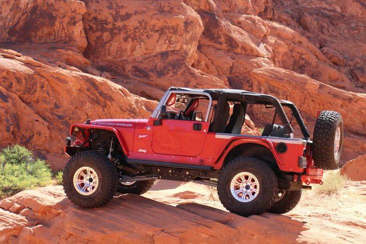 Jeep Wrangler Lj W Flat Fenders Raceline Wheels 37 Quot Bfg