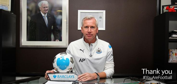 With three wins out of four last month, @NUFC's Alan Pardew is the #BPL Manager of the Month for November.