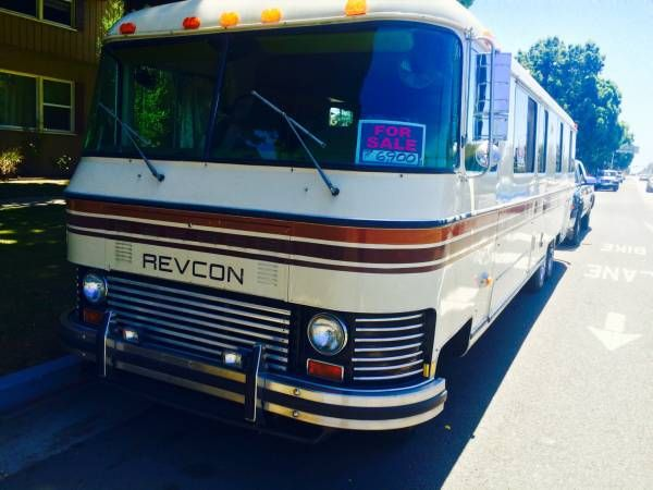 Used Motorhomes For Sale By Owner >> Used Rvs 1977 Revcon Motorhome For Sale By Owner Vintage