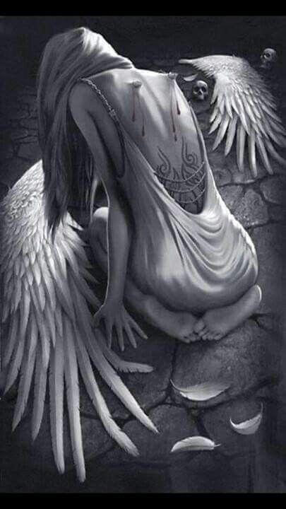 ...a broken wing...