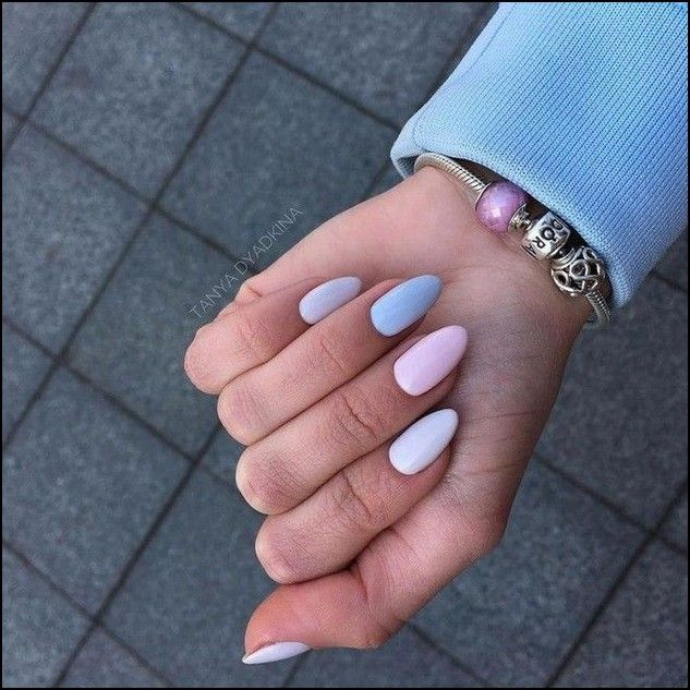 123+ nail designs and ideas for coffin acrylic nails – page 42