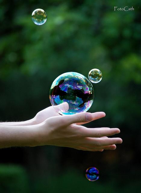 Held....bubble.