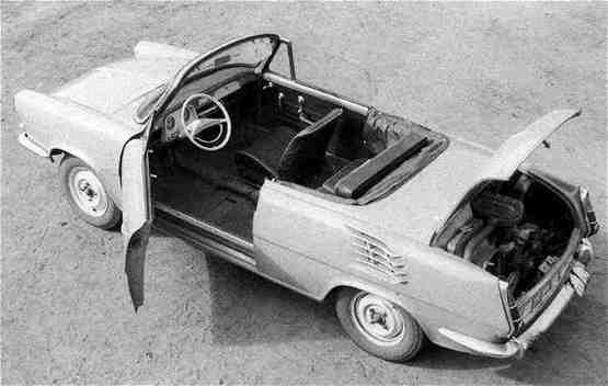 Skoda 1000 MB Roadster