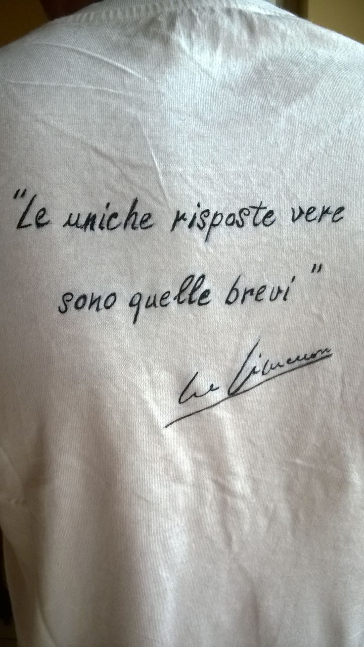 Simenon t-shirt. Handpainted. I' ve found and copied the writer' sign and the phrase from the web.