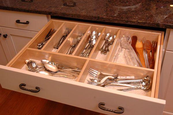 kitchen silverware drawer divider
