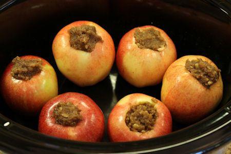 Crock Pot Baked Apples: Apples Pies, Crock Pots, Baking Apples Aaand, Crockpot Baking, Small Apples, Ice Cream, Pots Baking, Crockpot Recipe, Food Recipe