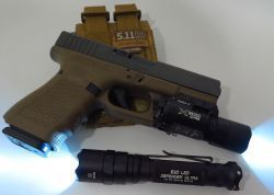 Mounting a light on a weapon, whether long gun or handgun, is a necessary option for every bug in and bug out scenario. The light is not just for discriminating among potential targets, but also to light the escape