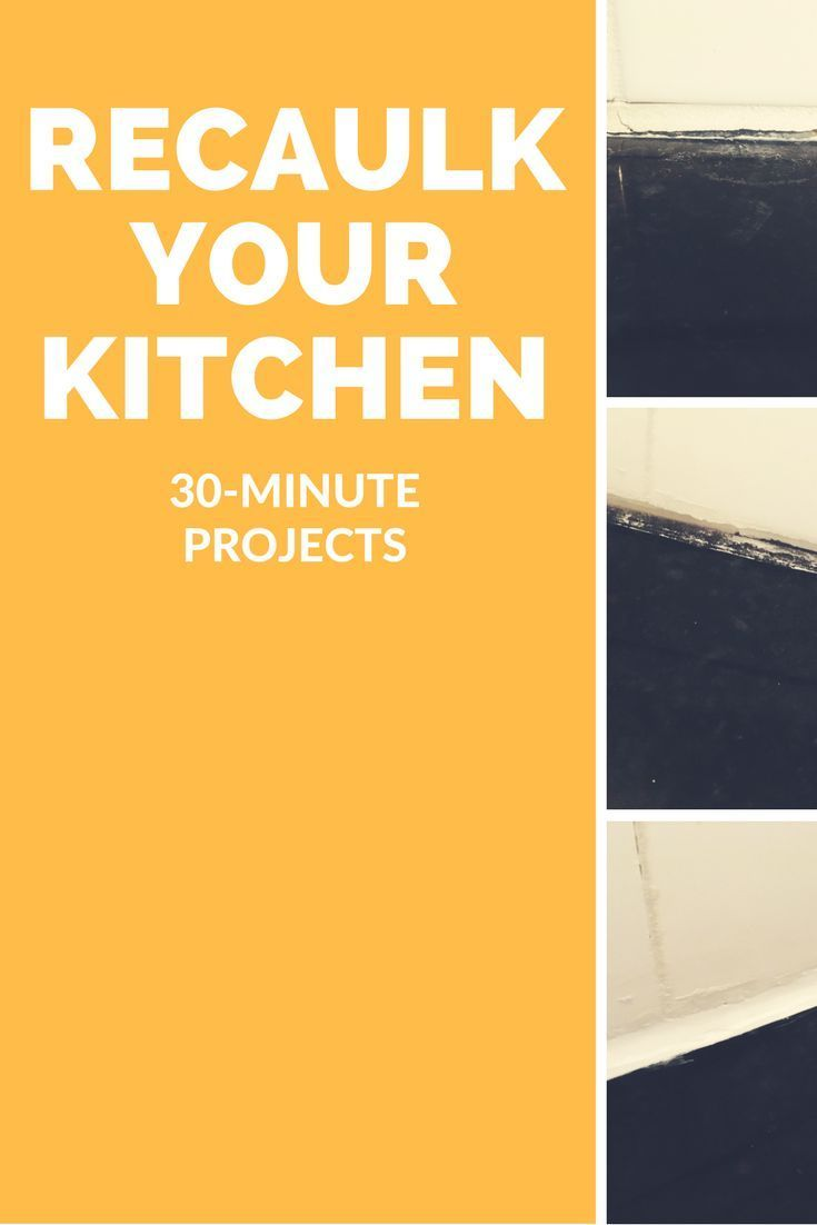 30 Minutes Is All It Takes To Recaulk Your Kitchen Counter Backsplash Remove The Old Grout Or Caulk Squeeze In T Kitchen Counter How To Remove Caulking Caulk
