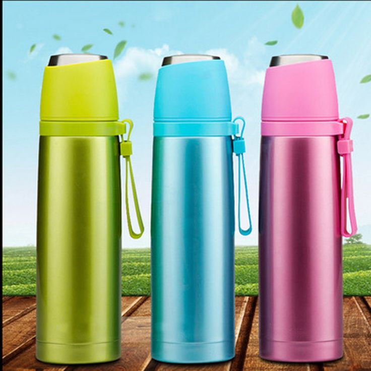 Stainless Steel Thermos Termos Bardak Garrafa Termica Thermos Travel Cute Travel Mugs Vacuum Water Flask Bottle Insulated Cups