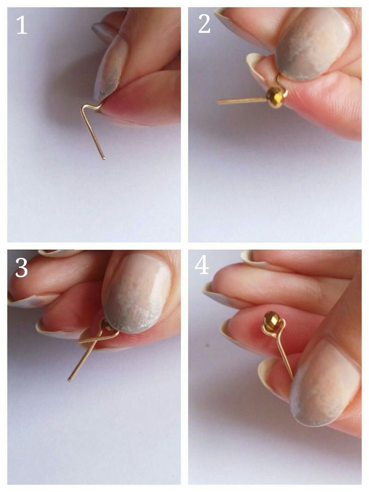 DIY Stud Earrings