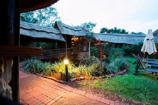 Zululand Tree Lodge - reception area ...