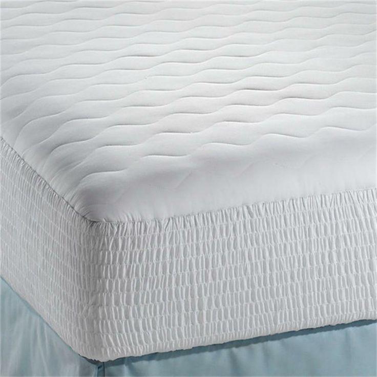 simmons beautyrest 100 cotton down alternative dream loft mattress pad