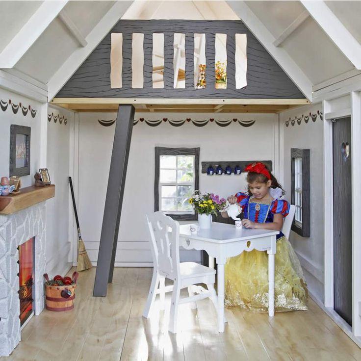Playhouse Interior Ideas | Fairytale Cottage Playhouse Thumbnail 3