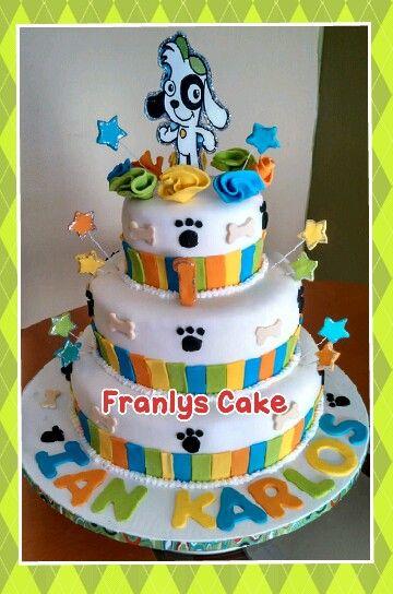 Doki Birthday Cake