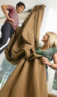 how to clean and choose window treatments > Decorating > Designing For Your Home > Right@Home®
