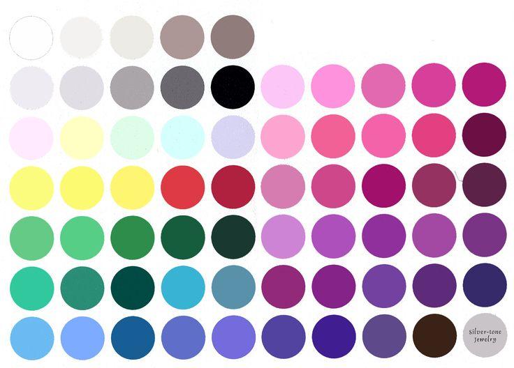 inverno puro - Clara, essa é sua cartela de cores. Como você está pensando em usar peças mais românticas de formas mais sofisticadas, pode investir em peças em tons mais fechados quando a modelagem for muito fluida e mais claros pra peças mais clássicas.