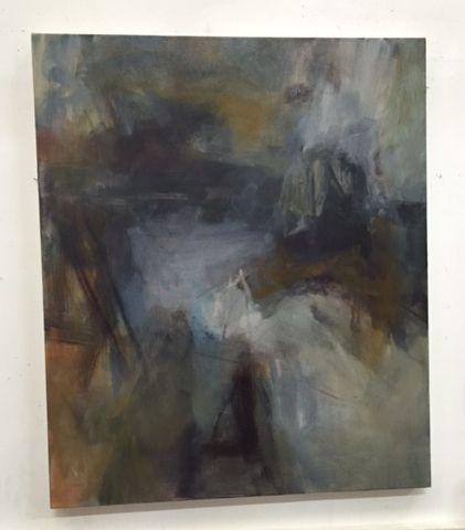 The Presence of Absence by Gail Barfod  oil on canvas 91x76cm https://www.facebook.com/gailbarfodartist