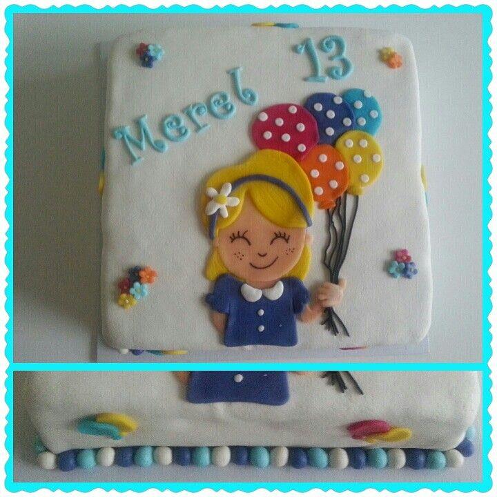 Blond Amsterdam taart/cake