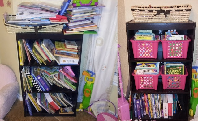 Chaos In My Casa: Organizing Kid's Books